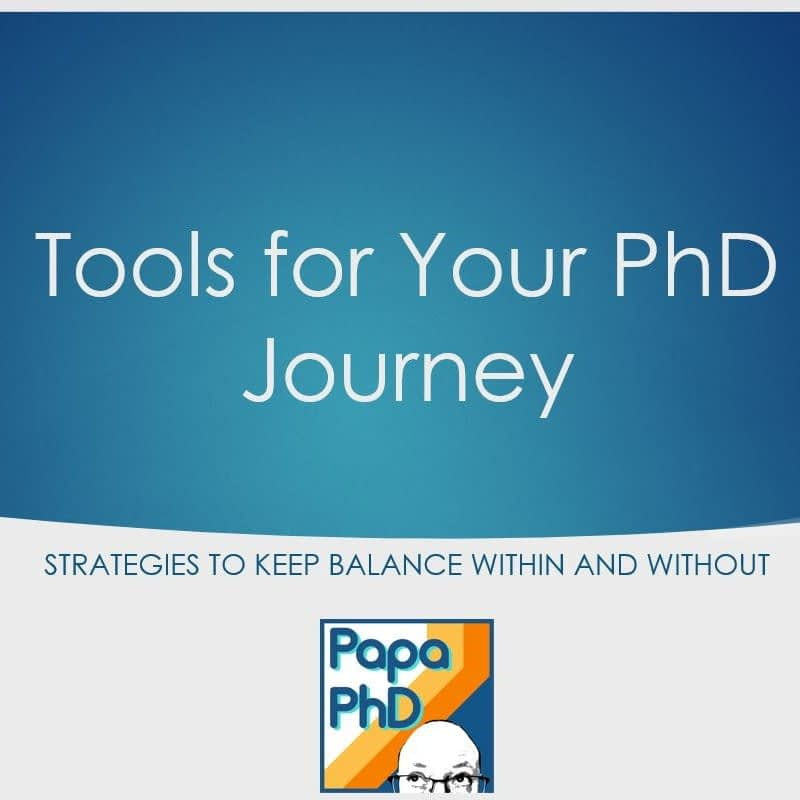 Tools for Your PhD Journey
