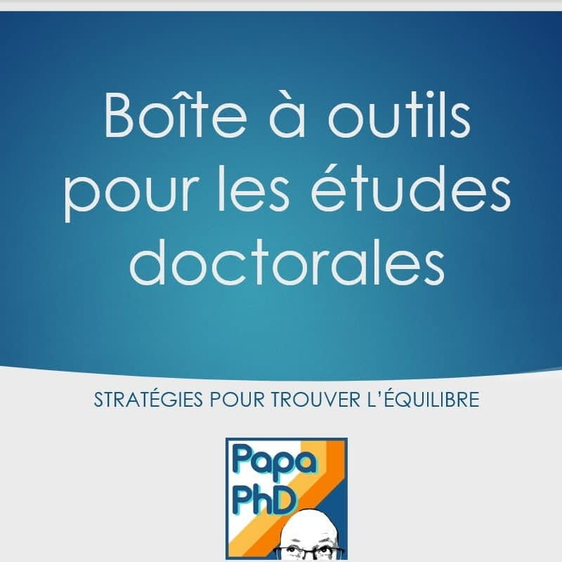 Boite a outils doctorat