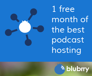 1 free month hosting with Blubrry